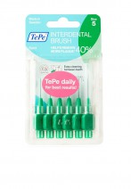 TePe Interdental Brush Green 0.8mm Pack of 6