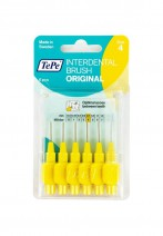 Tepe Interdental Brush Yellow 0.7mm Pack of 6